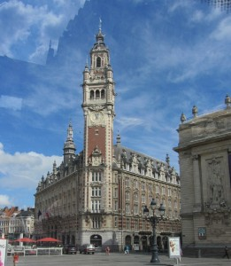 Le Beffroi, located near the Grand'Place, Lille